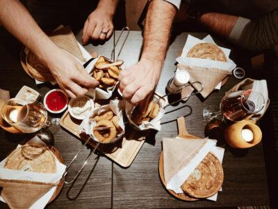 Croqino's food sharing