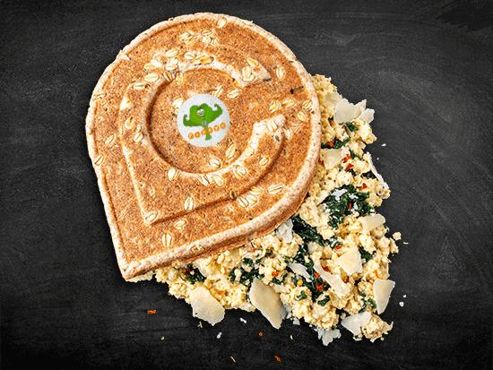 veggie | croqino Popeye & side dish